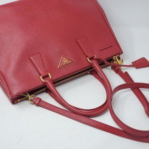 Prada Bags - Auth Prada Galleria Medium Saffiano Crossbody Bag